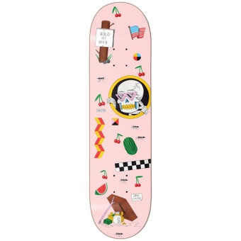 Darkstar 8.25 Lutzka Cherries R7 deck