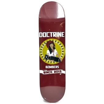 Doctrine 8.25 Maiden Bomber Skateboard