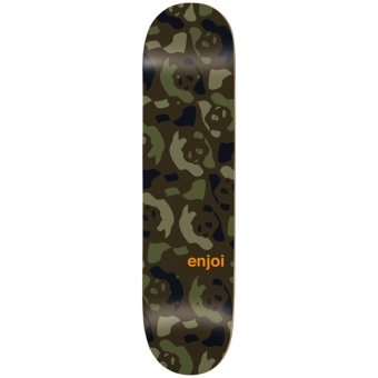 Enjoi 8.375 Repeater Green Camo Skateboard