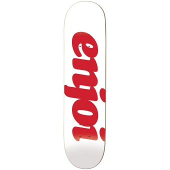 Enjoi 8.0 Flocked White HYB deck