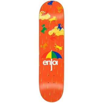 Enjoi 8.0 Raining Cats & Dogs Skateboard
