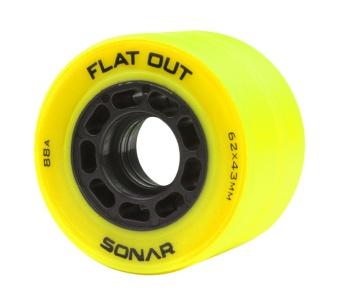Radar Flat-Out 62mm, 88A Yellow