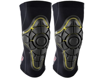 G-Form PRO-X Knee Pads (Black/Yellow)
