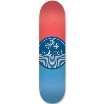 Habitat 8.0 Leaf Dot Small Skateboard
