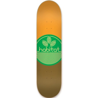 Habitat 8.25 Leaf Dot Medium Skateboard