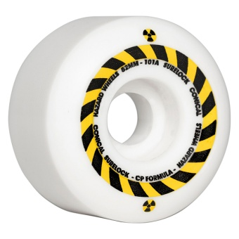 Hazard 52mm 101A Sign Surelock  CP+ Conical