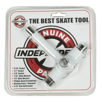 Independent Best Skatetool White