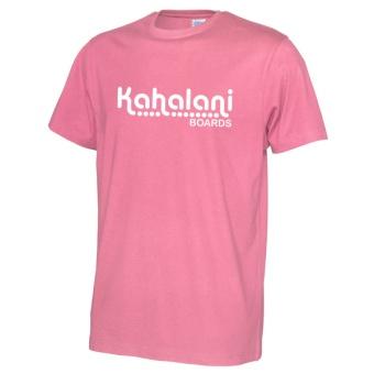 Kahalani t-shirt logo Pink
