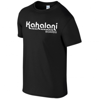 Kahalani t-shirt logo Black
