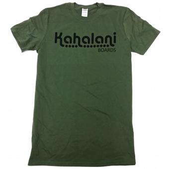 Kahalani t-shirt logo Olive