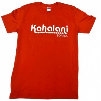 Kahalani t-shirt logo Orange
