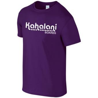 Kahalani t-shirt logo Purple