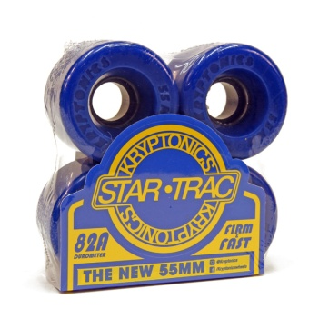 Kryptonics StarTrac 55mm 82A Blue