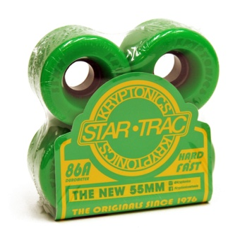 Kryptonics StarTrac 55mm 86A Green