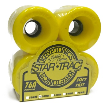 Kryptonics StarTrac 60mm 76A Yellow