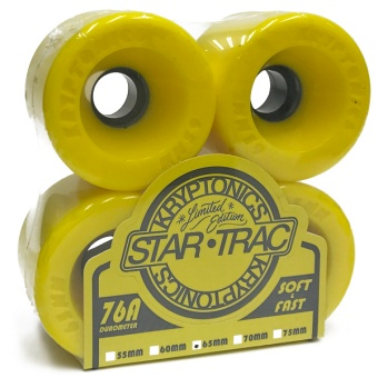 Kryptonics StarTrac 65mm 76A Yellow