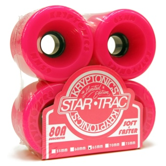 Kryptonics StarTrac 65mm 80A Pink