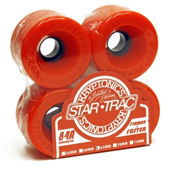 Kryptonics StarTrac 65mm 84A Orange