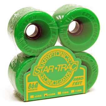 Kryptonics StarTrac 65mm 86A Green