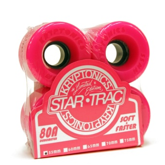 Kryptonics StarTrac 55mm 80A Pink