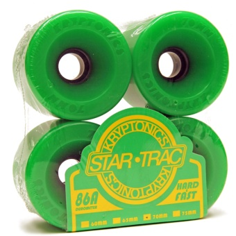 Kryptonics StarTrac 70mm 86A Green