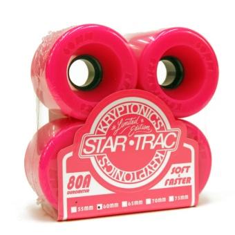 Kryptonics StarTrac 60mm 80A Pink