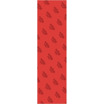 MOB Clear Red griptape Sheet