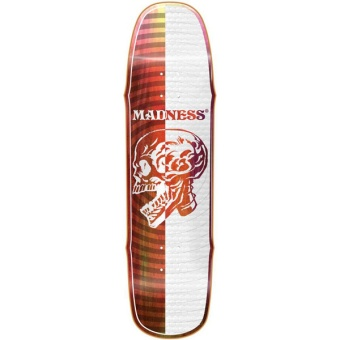 MADNESS 8.5 X-Ray White R7 Skateboard