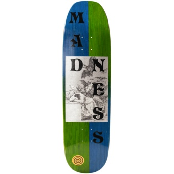 MAD 8.75 Dreams Blue/Green R7 deck