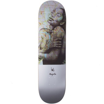 Magenta 8.25 Tavu skateboard