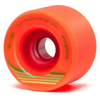 Orangatang 73mm, 80A Cage (Orange)