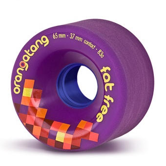 Orangatang 65mm, 83A FatFree (Lila)