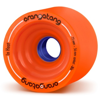 Orangatang 75mm InHeat 80A (Orange)