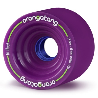 Orangatang 75mm InHeat 83A (Lila)