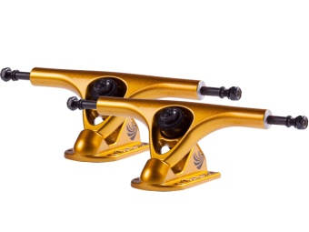 Paris trucks 180mm V2 Gold (43° basplatta)