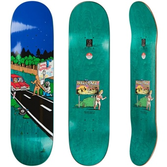 Polar 8.25 Welcome to Perth Skateboard