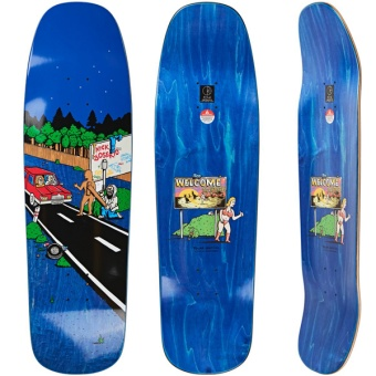 Polar 9.25 Welcome to Perth 1992 Skateboard