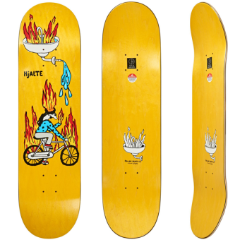 Polar 8.5 Fire Ride Skateboard