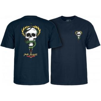 PP McGill Skull & Snake t-shirt Navy