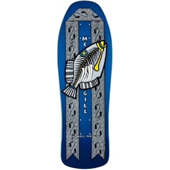 Bones Brigade® McGill Humu Fish Blue Skateboard Deck