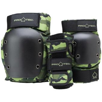 Pro-Tec Junior Street Gear 3 Pack Camo