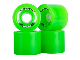 Divine 65mm Road Rippers Green 78A