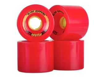 Divine 65mm Road Rippers Red 78A