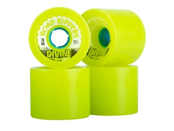 Divine 70mm Road Rippers Lime 82A