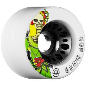 Rollerbones 62mm, 80A (White)