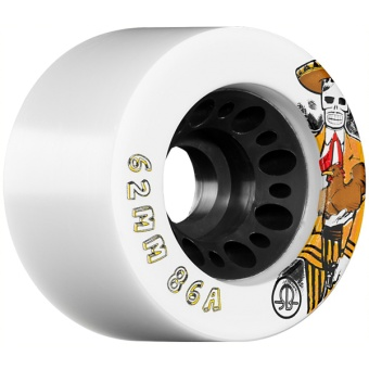 Rollerbones 62mm, 86A (White)