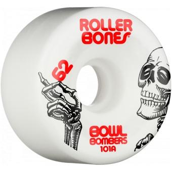 Rollerbones 62mm 101A Bowl Bombers 8pk