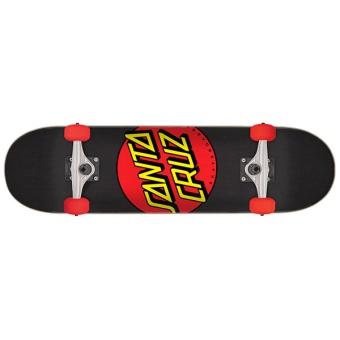 SantaCruz 7.25 Classic Dot Red MID 9-12år
