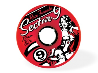 Sector9 72mm RACE 82A (Red)
