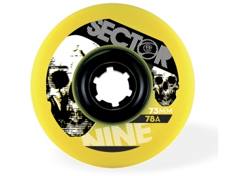 Sector9 73mm Freeride 78A (Gul)